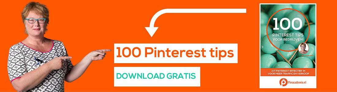 100 Pinterest tips voor bedrijven, bloggers en webshops