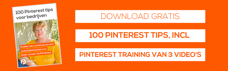 Hoe werkt Pinterst? Download gratis 100 Pinterest tips