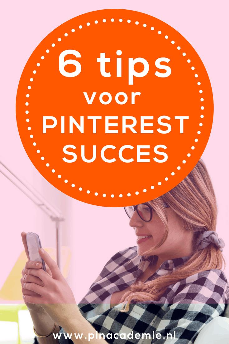 Hoe werkt Pinterest? Met deze 6 tips zet je Pinterest succesvol in voor je bedrijf.