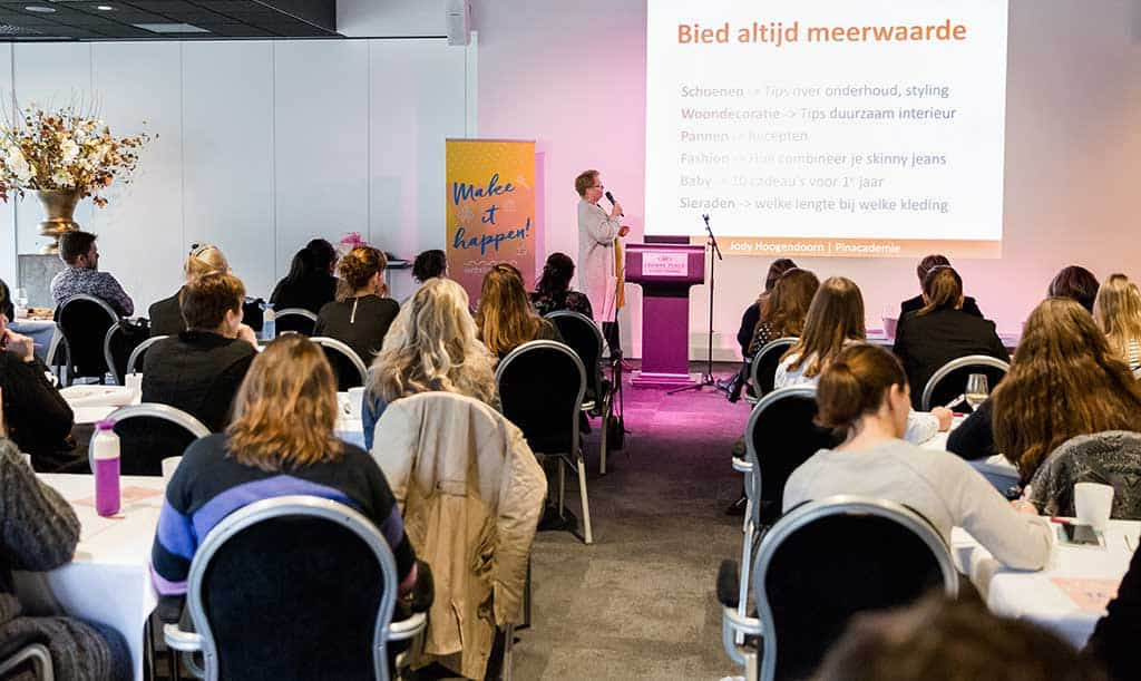Jody Hoogendoorn Pinterest Workshop Training Spreker